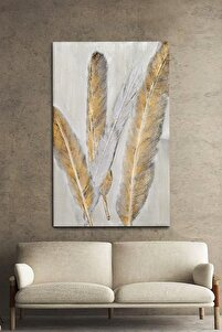 Gold In Fur Kanvas Tablo 70x100cm