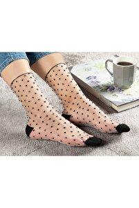 Kadın Siyah Ten Çorap