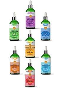 Aromaterapi 7 Çakra Masaj Yağı Seti % 100 Saf 700 Ml