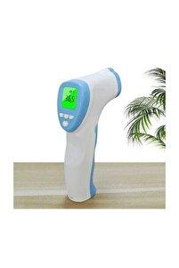 F002 Termometre Lcd Temassız Kızılötesi Alın Termometresi