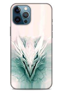 Iphone 12 Pro Max Uyumlu Dragons (15) Antişok Buz Ejderhası Kılıf