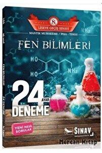 8. Sınıf Lgs Fen Bilimleri 24 Deneme