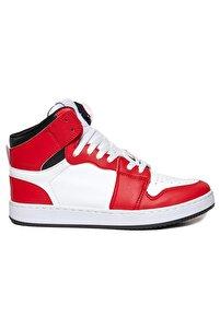 Unisex Kırmızı Bilekli Spor Ayakkabı