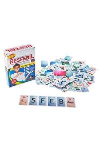 Resfebil Resimli Kelime Oyunu - Aktivite Ve Eğitici Kitap - Zeka Gelişimi