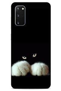 Samsung Galaxy S20 Uyumlu Kediler (50) Shockproof Kılıf
