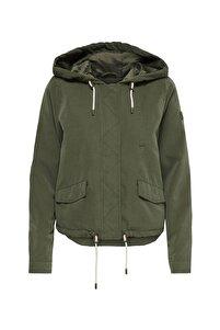 Kadın Haki Hood Sprıng Jacket Cc Otw Kalamata Mont  15218613