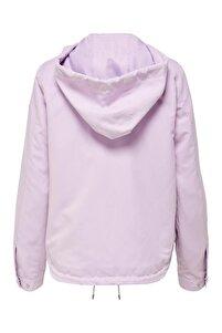 Skylar Hood Spring Jacket Cc Otw Kadın Mor Mont 15218613-19