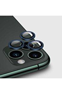 Apple Iphone 12 Pro Max Kamera Lens Koruyucu Lacivert