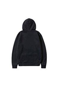 Unisex Siyah Your Style Baskılı Özel Seri Kapüşonlu Trend Sweatshirt
