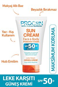 Procsın Güneş Kremi Koyu Leke Karşıtı Spf 50 50 ml