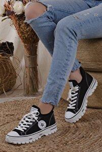 Kadın Siyah Unisex Spor Ayakkabı Wmax355842