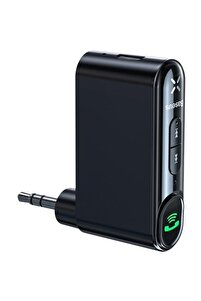 Araba Aux Bluetooth 5.0 Adaptör 3.5mm Jack Hoparlör Kulaklık