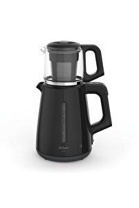 Cam Demlik Çay Makinesi 1700 Watt - Siyah AR3061