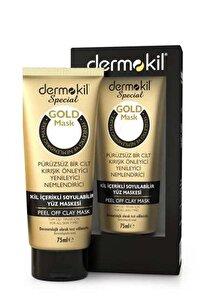 Soyulabilir Kil Içerikli Gold Maske 75 Ml 8697916005667