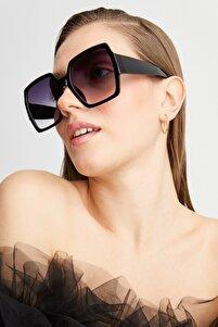 Lotus Siyah Kadın Güneş Gözlüğü Apss039500