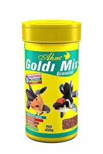 Goldı Mix Karışık Japon Balığı Yemi 250 ml