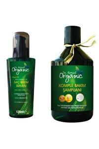 Saç Bakım Seti Dr.royal Organic Tüm Saç Tipleri Için Şampuan + Saç Bakım Serumu Yağı