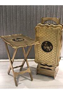 Italyan Tarzı Çanta Zigon Gold 4 Sehpalı