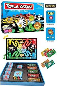 Monopoly Topla Kazan Ticaret Eğlence Oyunu