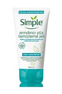 Daily Skin Detox Yağlı/Karma Ciltler İçin Arındırıcı Yüz Temizleme Jeli 150 ml