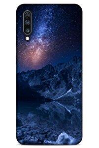Samsung Galaxy A70s Uyumlu Kılıf Gece's (18) Telefon Kılıfları Lacivert
