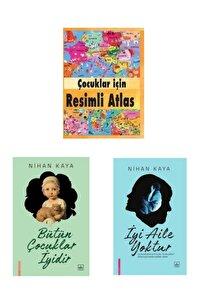 Nihan Kaya 2 Takım Kitap Çocuklar Için Resimli Atlas