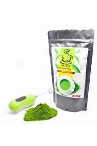 500 gram Yüksek Kaliteli Matcha Çayı Ücretsiz Elektronik Köpürtücü Ve 2 Adet Pil