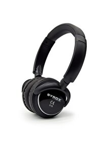 Kulaküstü Kablosuz Bluetooth Kulaklık Hafıza Kartı Girişli S16 Siyah