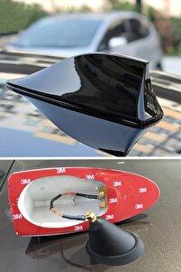 Elektrikli Her Araca Uygun Siyah Shark Köpek Balığı Balina Tavan Anteni