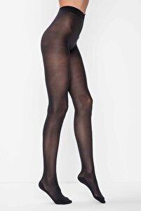 Kadın Siyah Micro 40 Külotlu Çorap