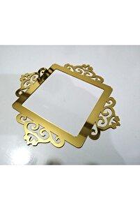 Gold Dekoratif Priz Kenarı Süsü 6