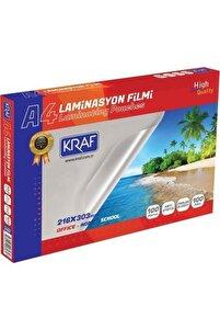 Laminasyon Filmi Parlak A4 100mic 100lü 2120