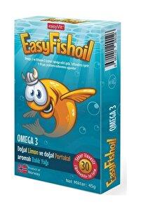 Easyvi?t Easyfishoil Omega 3 Çiğnenebilir 30 Jel Tablet
