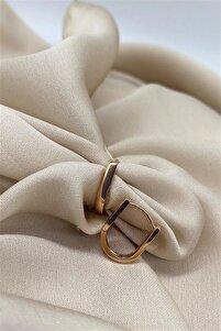 Ithal Vip Collectıon U Küpe Rosegold Renk