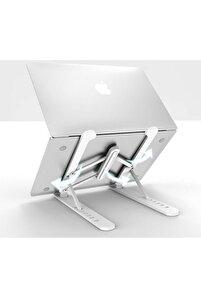 Detayteknoloji Notebook Laptop Standı Özel Yükseltici Aparat Alüminyum Tasarım