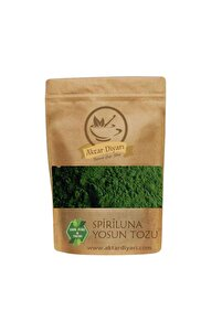 Sipiriluna Toz Yosun - Spriluna % 100 Saf 100 gr