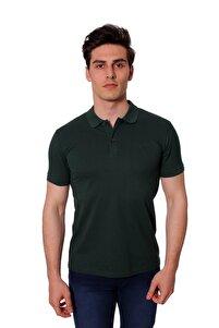 Polo Yaka Erkek Tshirt Yeşil 171907