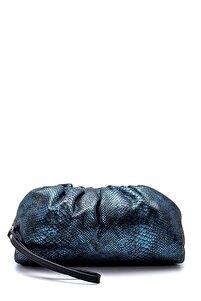 Kadın Mavi Portföy Çanta