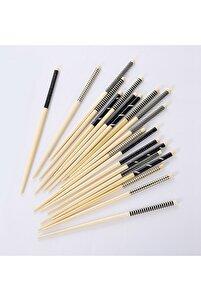 Bambu Chopstick Seti 10 Çift Siyah&beyaz