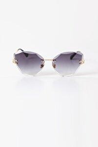 Çerçevesiz Tasarım Kedi Güneş Gözlüğü