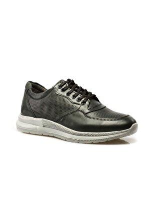 maximoda Memory Form hakiki Deri Ortopedik Yüksek Tabanlı Erkek Ayakkabı