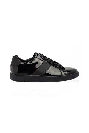 Celal Gültekin Cg 257 Erkek Günlük Spor Ayakkabı Siyah Rugan