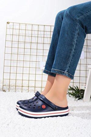 Ayakkabım Elimde Kadın Lacivert Terlik Ceox