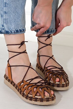 Adım Adım Kadın Düz Sandalet