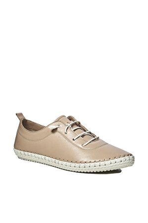 Desa Hakiki Deri Pudra Kadın Sneaker 2010044272