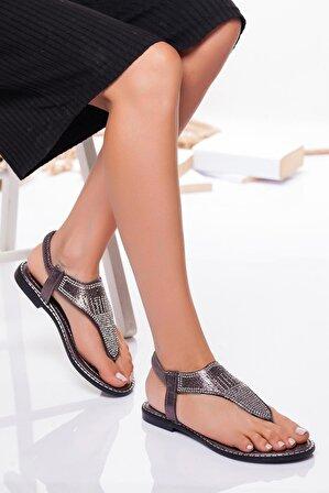 Ayakkabı Frekansı Platin Noks Sandalet