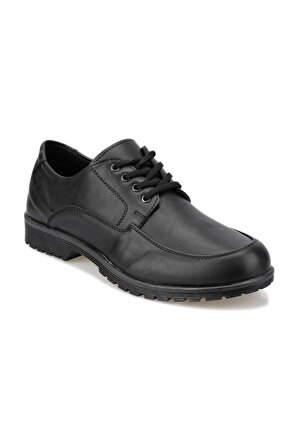 Polaris Siyah Erkek Ayakkabı