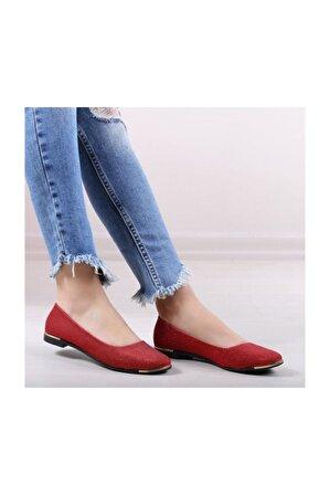 WoW Ayakkabı Kadın Babet Ayakkabı