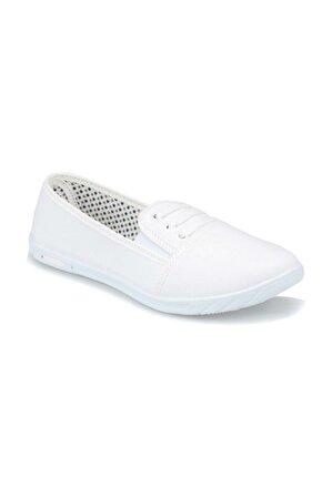 Polaris Beyaz Kadın Ayakkabı