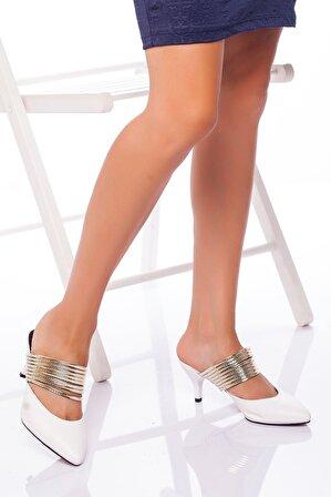 Ayakkabı Frekansı Alegra Topuklu Ayakkabı BEYAZ
